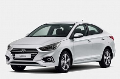Hyundai Solaris new 1.6L (AT) 2018 г.